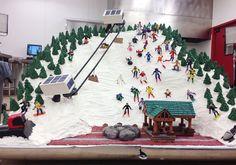 Ski Lift Cake!