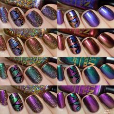 Fun Lacquer 2015 New Year's Collection by simplynailogical