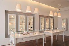 Jewellery display cabinets