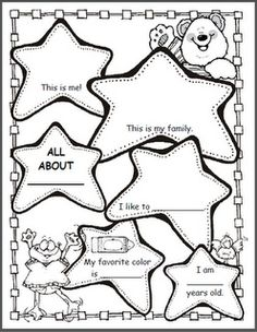 Back to School All About Me Puzzle {FREEBIE!}. Send before