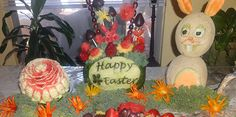 Easter food decorations by Janette Cancel