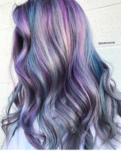 """286 Likes, 5 Comments - Pulp Riot Hair Color (@pulpriothair) on Instagram: """"Pulp Riot Silver and Violet Toners + Creative Colors... @hairbykaseyoh is the artist... Pulp Riot…"""""""