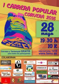 ¿ TE GUSTA EL RUNNING? ¿ Te has apuntado ya  a la carrera popular de Corvera del 28 de Mayo ? Tras la carrera podrás degustar alguno de nuestros productos además, para inscribirse en www.famu.es