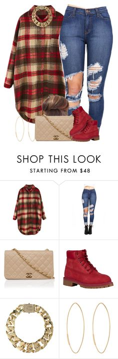 """Flannels are life."" by livelifefreelyy ❤ liked on Polyvore featuring Timberland, AllSaints and Lana"