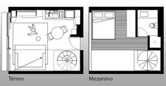 Small Floor Plans, Small House Plans, House Floor Plans, Small Apartments, Tiny House, Flooring, How To Plan, Architecture, Live