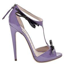 Miu Miu Patent Leather Bow Heels