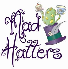 mad hatter tea party clip art - photo #4