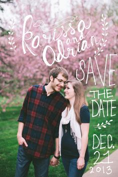 Custom Save the Date Magnets by 13thandarapahoe on Etsy, $200.00
