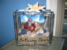 Bethany Beach Glass Block
