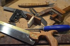 Tools used for making a dovetail marker