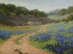 Plein Air Southwest Salon 2013 - Exhibit in Dallas, painting by artist Laurel Daniel