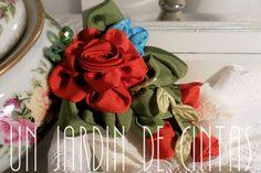 Joyas y bisutería de novia - Broche Eleanor-bouquet vintage - hecho a mano por gloria-60 en DaWanda