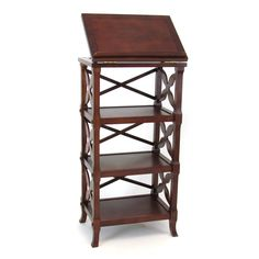 Have to have it. Wayborn Charter 3-Shelf Bookcase Podium $349.99