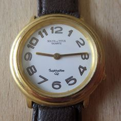 Retro - SOLVIL et TITUS Inspiration - Water Resistant - Guaranteed Genuine, rare gents quartz wristwatch, new battery fitted. by EWcoLondon on Etsy Unique Christmas Gifts, Unique Gifts, Retro Watches, Quartz, Clock, Water, Etsy, Inspiration, Watch