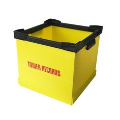 タワレコ・コンテナ Yellow - TOWER RECORDS ONLINE Tower Records, Container, Yellow, Canisters, Gold