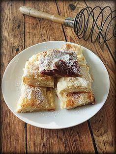 Húzott rétes Fudge, French Toast, Berries, Breakfast, Cake, Pink, Food, Morning Coffee, Kuchen