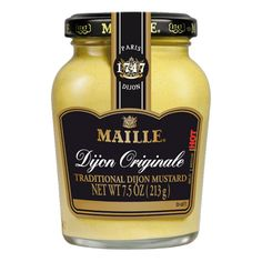 Maille Traditional Dijon Originale is creamy, spicy and delicious!