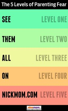 The 5 Levels of Parenting Fear | More LOLs & Funny Stuff for Moms | @RobynHTV on @NickMom