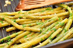 Fabryka Smaku: Fasolka szparagowa z czosnkiem