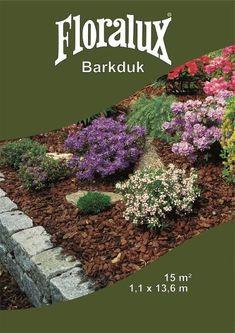 Dekkmateriale til hagebruk. Som for eksempel toppbark, prydbark og Plantexmatter. Ved bruk av bark beskyttes plantene he