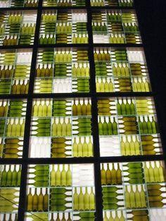 wine bottle walls