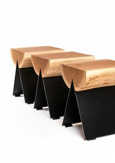 Mix of materials for chairs. #inspiration #retail #design sur Crowdyhouse 225 € avec port
