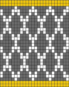 Trendy Crochet Bag Tapestry Design 47 Ideas – Knitting Models and Suggestions Crochet Socks Pattern, Tapestry Crochet Patterns, Crochet Motifs, Weaving Patterns, Crochet Chart, Diy Crochet, Stitch Patterns, Crochet Rugs, Filet Crochet