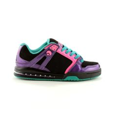 Shop for Womens Osiris Pixel Skate Shoe in Black Purple Pink at Journeys Shoes. Shop today for the hottest brands in mens shoes and womens shoes at Journeys.com.The Pixel from Osiris features a leather upper with perforated panels, a padded tongue and color, and EVA midsole with rubber outsole. Available exclusively at Journeys!