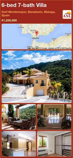 6-bed 7-bath Villa in Golf Montemayor, Benahavis, Malaga, Spain ►€1,250,000 #PropertyForSaleInSpain