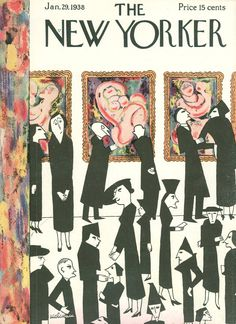 The New Yorker - Saturday, January 29, 1938 - Issue # 676 - Vol. 13 - N° 50 - Cover by : Christina Malman
