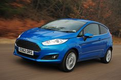 My lastest car (2014) - Ford Fiesta Zetec in Candy Blue