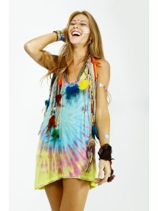 Regata Tie Dye inspirada no carnaval ♥