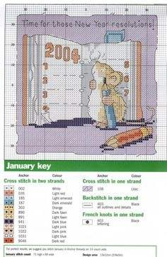 Margaret Sherry (Cross Stitch) Easy enough to change the year. Cross Stitch Numbers, Cross Stitch Boards, Cross Stitch Baby, Cross Stitch Animals, Cross Stitch Designs, Cross Stitch Patterns, Cross Stitching, Cross Stitch Embroidery, Hexagon Quilt