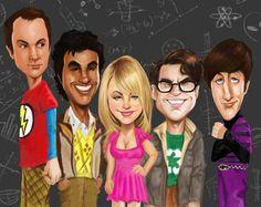 60+ Artworks dedicated to The Big Bang Theory (TV Series)