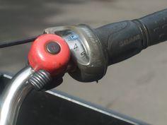 bike bell orange