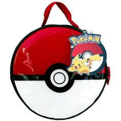 """Popolar Pokemon Pokeball Lunch Kit that can show off in the office (8.5"""" Diameter x 3"""" Height). Pokemon gifts for her.  Get more here: http://www.iwantpokemon.com/"""