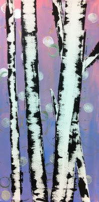 """Determine additional relevant information on """"metal tree art projects"""". Browse through our site. Camping Art, Art Painting, Art Blog, Kids Art Class, Tree Branch Art, Tree Painting, Art, Childrens Art, Winter Art"""