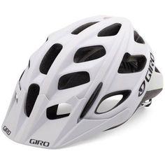 Giro Men's Hex Bike Helmet Matte White/Lime S