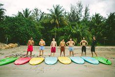 Duane McLaughlin groomsmen in Puerto Rico. Adam Alex Photography