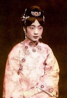 The Last Empress of China, Wan Rong c 1922