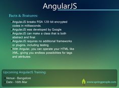 #AngularJS is said to be the only framework that understands JavaScript language as it was originally designed. And the reason why it's so famous among developers. #Software