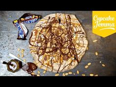 How to Make a Filthy Snickers Pavlova | Cupcake Jemma - YouTube