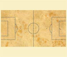 """Kickertisch Zubehör / Kicker Zubehör / Tischfußball Zubehör - Spielfeldfolie Motiv """"Sandplatz"""""""