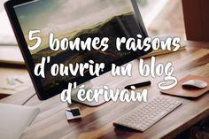 Illustration : ouvrir un blog d'écrivain Encouragement, Mademoiselle, Roman, Blog, Writing, Illustration, Inspiration, Writing Tips, Authors