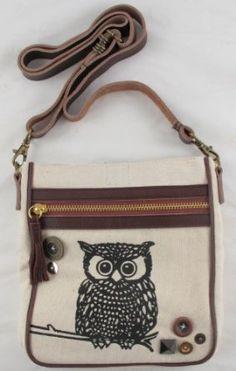Glam Naturale Owl Shoulder Bag