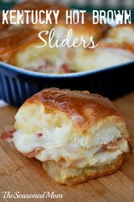These are great - a lot like the Kings Hawaiian Ham and Swiss Sliders - great for a pot luck or party