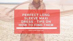 The perfect maxi dress doesn't exist…or does it? As a Muslim who wears the hijab, it is oddly difficult to shop, like anywhere. Long Sleeve Maxi, Maxi Dress With Sleeves, Modest Fashion, Muslim, That Look, Posts, Tips, Shop, Dresses