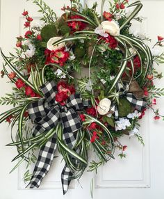 Mesh Burlap Everyday and Summer Wreath by WilliamsFloral on Etsy