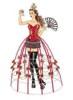 latin dance japan dots print skirt circular skirt, ballroom dance stage costume rose red party dress vintage 2ways skirt gorgeous