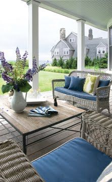 Beach House Outdoor living on your back porch with an amazing view of the Ocean! - I could learn to live like this!